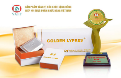 "Golden Lypres® has been honored with the ""Gold Product for Public Health Award"" 2017"